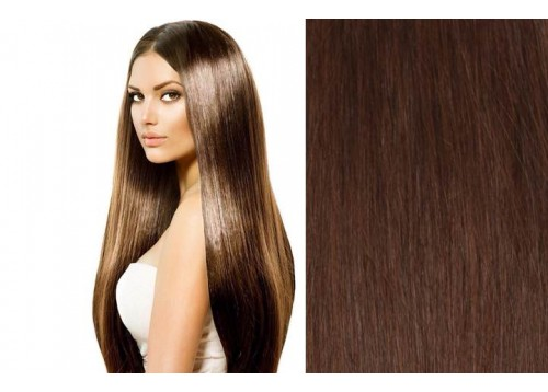 100% Human Hair Extensions Wefts 18""