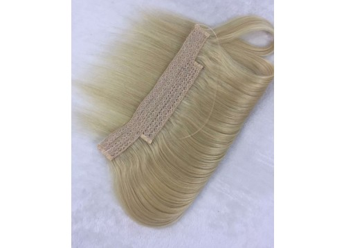 "14"" 100% Human Hair Halo Style Hair Extensions 100g"