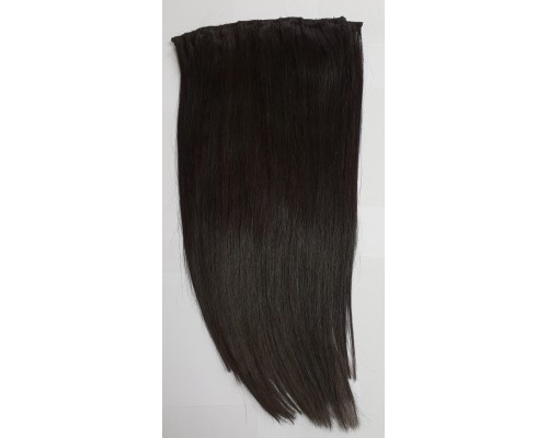 1 piece 100% Human Hair Clip In Extension